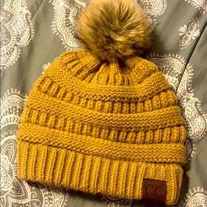 Mustard 💛 CC Beanie Hat